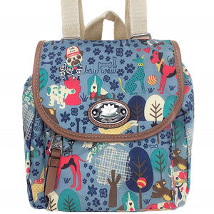 LILY BLOOM ➤ Mini Backpack ➤ Who Let The Dogs Out